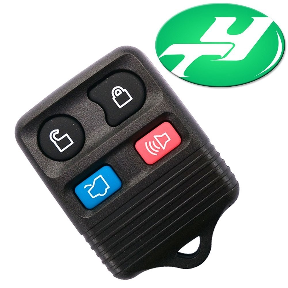 Yintatech Ford Keyless Replacement 4 Button Automotive Keyless Entry