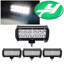 YINTATECH Led Light Bar 4PACK 6inch 36W Spot LED Light Bar Off Road Driving Work Light Fog DRL Bulb 3600LM Super Bright for Truck Jeep Cabin SUV Car ATV