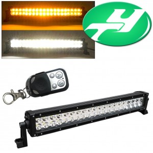 YINTATECH 24inch Dual Color 120W Combo Beam LED Light Bar Work Lamp Fits JEEP 4WD SUV UTE Golf Cart Driving Offroad Truck ATV Pick-Up Boat